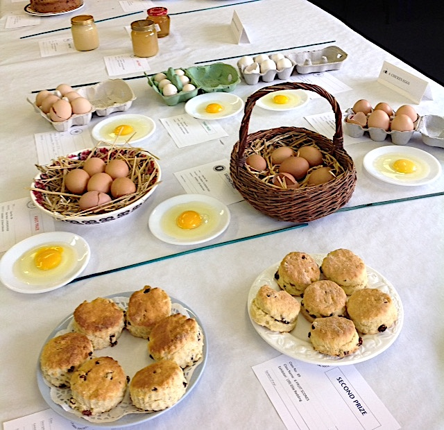 Eggs and scones